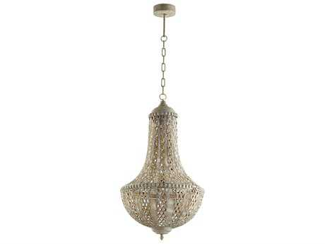 Cyan Design Tangier Antique Silver 17'' Wide Pendant Light