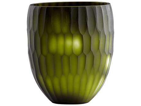 Cyan Design Reptilia Green Small Vase