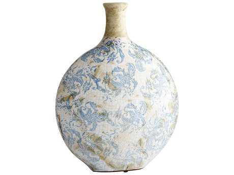Cyan Design Isela Blue & White Large Vase