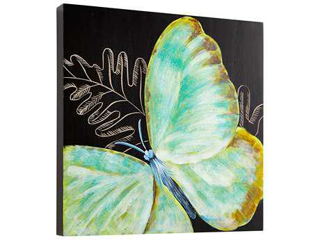 Cyan Design Papillon Black & Blue Wall Decor