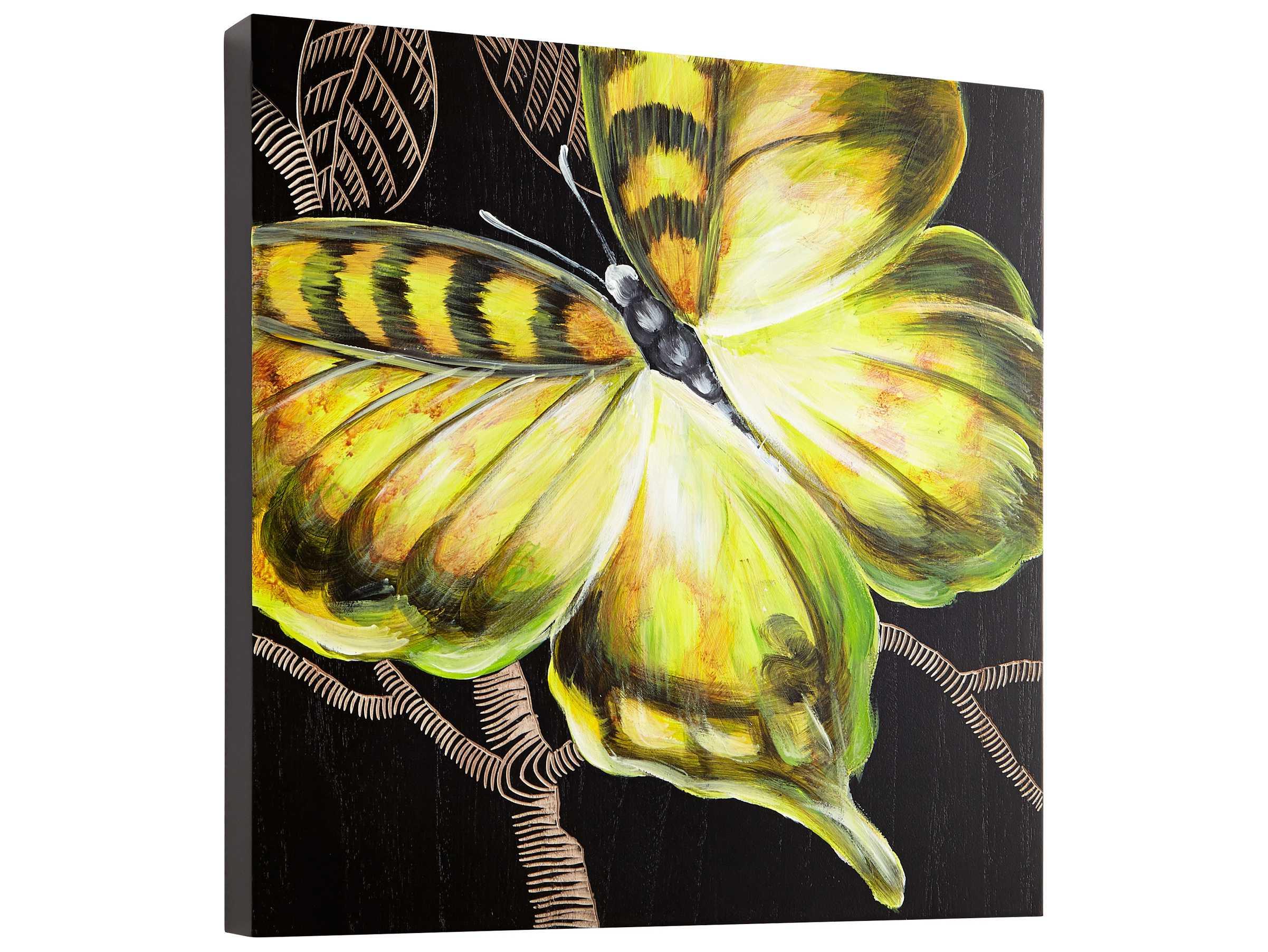 Cyan Design Monarch Black & Green Wall Decor | C307508