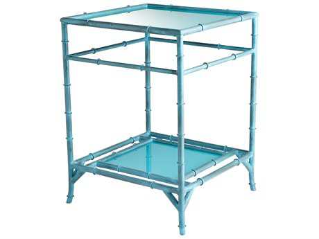 Cyan Design Akira Blue 18'' Wide Square End Table