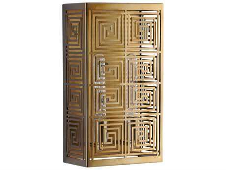 Cyan Design Allister Satin Brass Two-Light Wall Sconce