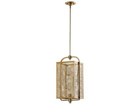 Cyan Design Allison Satin Brass 10'' Wide Pendant Light