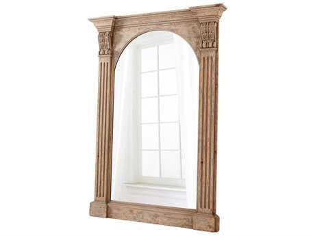 Cyan Design Cumberland Whitewashed 50''W x 70''H Rectangular Floor Mirror
