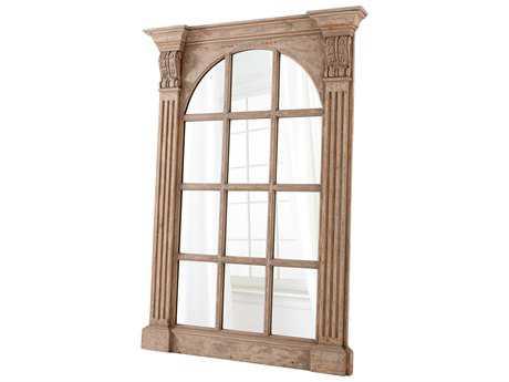 Cyan Design Edelman Washed Oak 50''W x 70''H Rectangular Floor Mirror