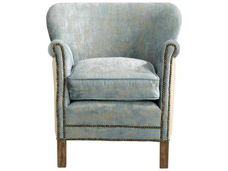 Cyan Design Bailey Blue Vintage Velvet Accent Chair