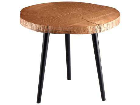 Cyan Design Timber Copper 27'' Wide Round End Table