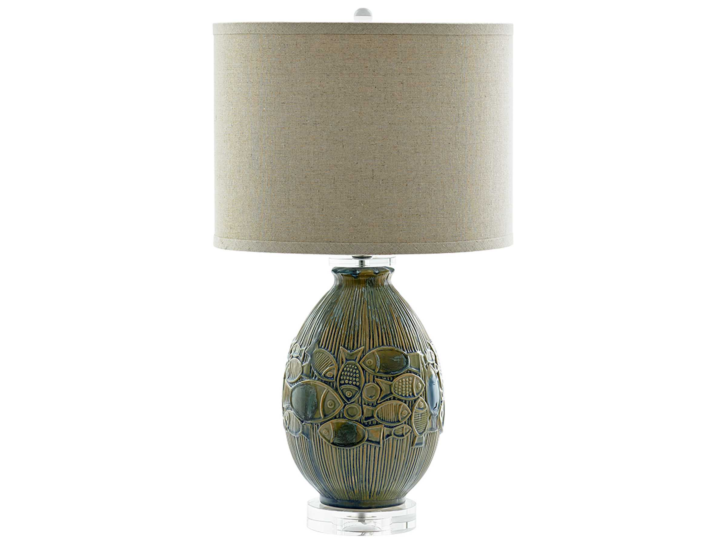 Cyan design piscine blue table lamp c307737 for Piscine blue design