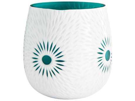 Cyan Design Cameo White Small Vase