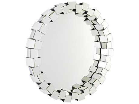 Cyan Design Kuberick Clear 42'' Wide Round Wall Mirror