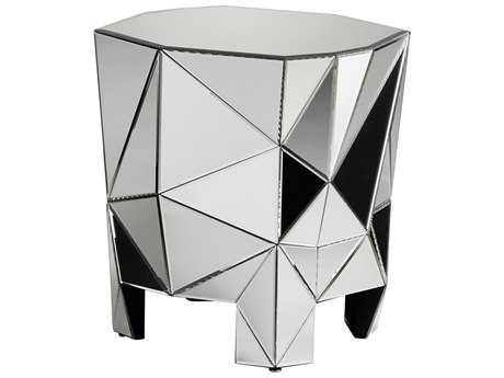 Cyan Design Allessandro Clear 26'' Wide Octagon End Table