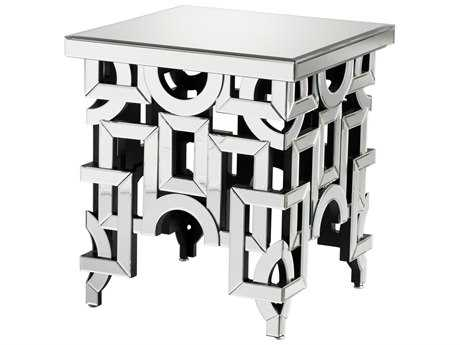 Cyan Design Volos Clear 22'' Wide Square End Table