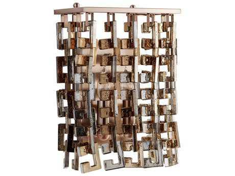 Cyan Design Athropolis Satin Copper Two-Light Wall Sconce