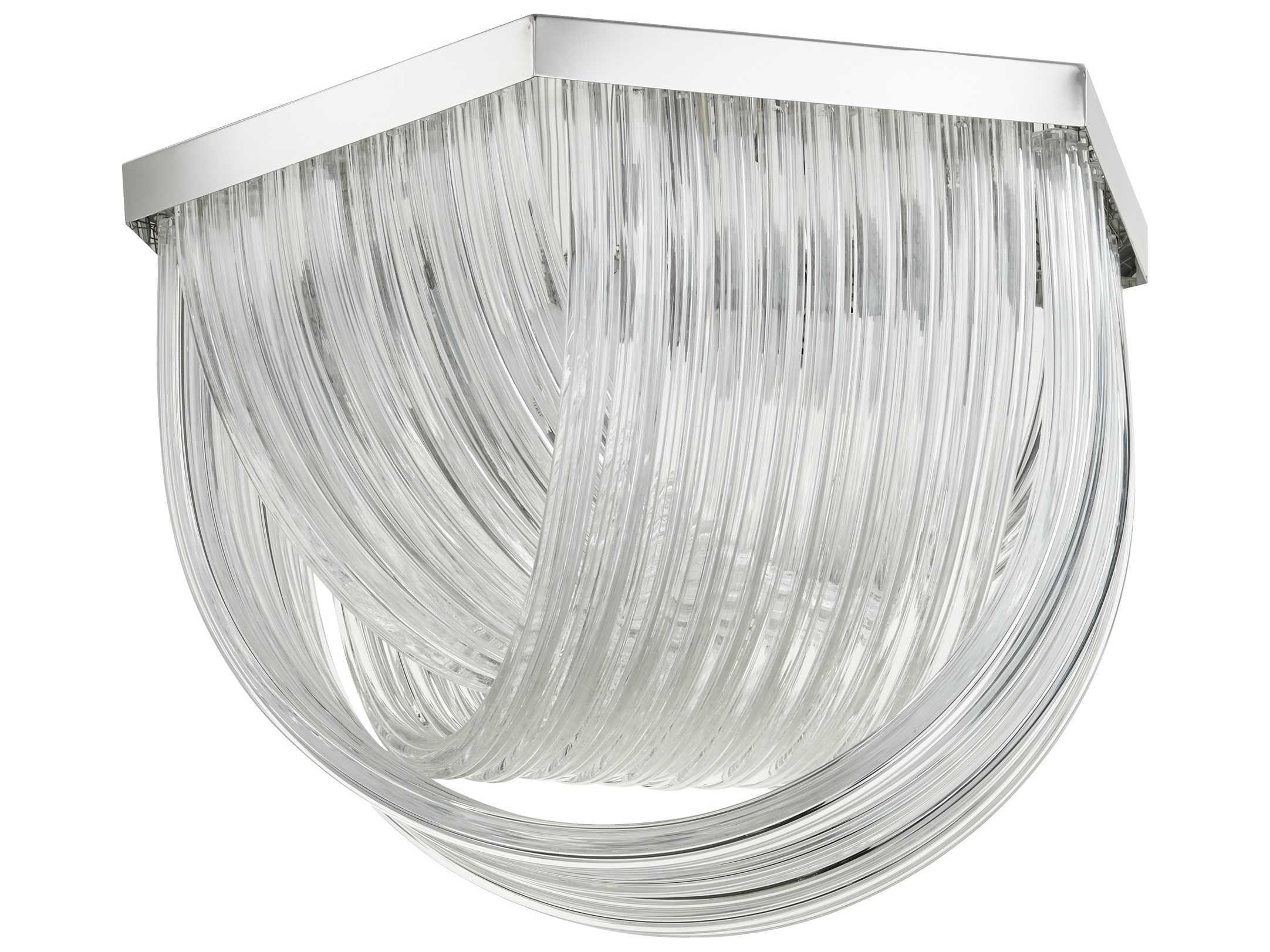 cyan design galicia chrome with clear glass three