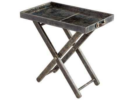 Cyan Design Maitre Tray Grey 29.5''L x 17''W Rectangular End Table