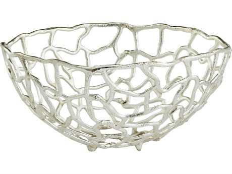 Cyan Design Enigma Silver Large Bowl