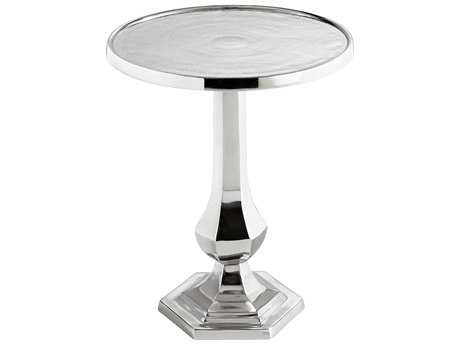 Cyan Design Old Sport Nickel 20'' Wide Round Pedestal Table