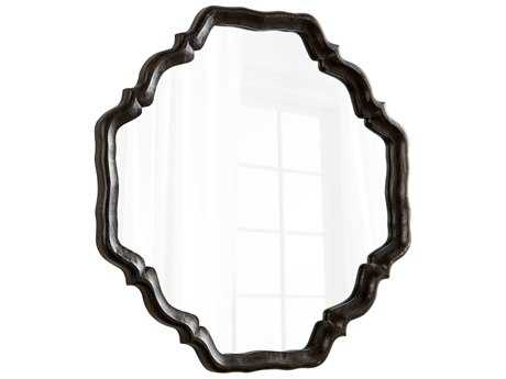 Cyan Design Outline Antique Brown 36.5'' Wide Wall Mirror