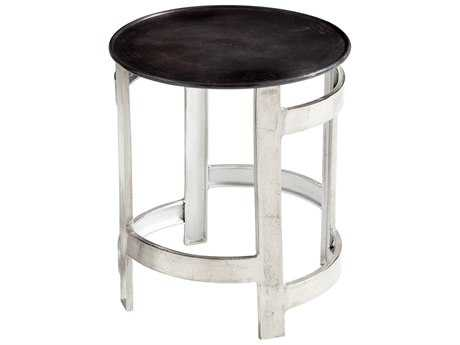 Cyan Design Ascension Silver & Bronze 19'' Wide Round End Table