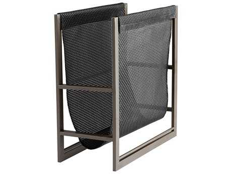 Cyan Design Mesh Graphite & Black Magazine Rack