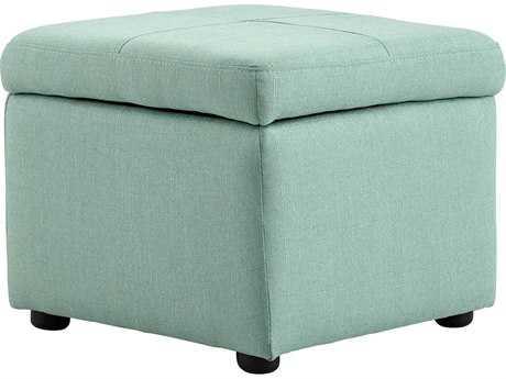 Cyan Design Huffington Green Ottoman