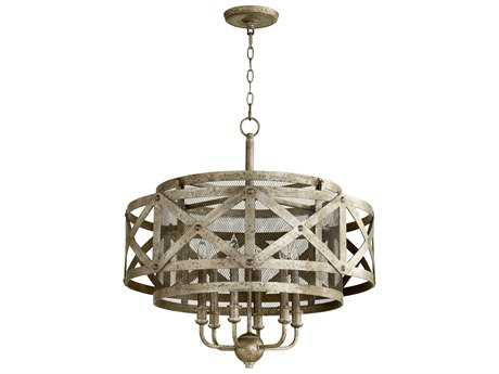 Cyan Design Byzantine Graphite Six-Light 26.5'' Wide Chandelier