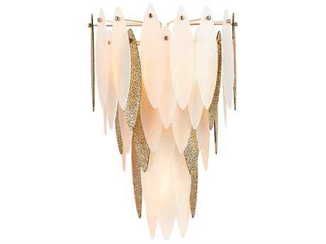 Cyan Design Vega Satin Gold Three-Light Wall Sconce