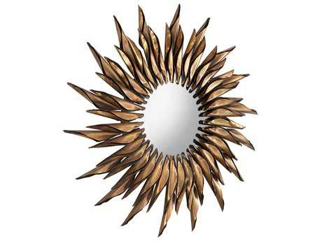 Cyan Design Sunshine Day Bronze 40'' Wide Sunburst Wall Mirror