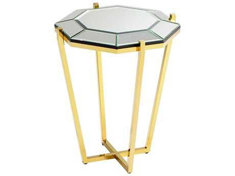 Cyan Design Elera Brass 20'' Wide Octagon End Table