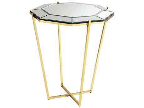 Cyan Design Elera Brass 30''Wide Octagon Foyer Table