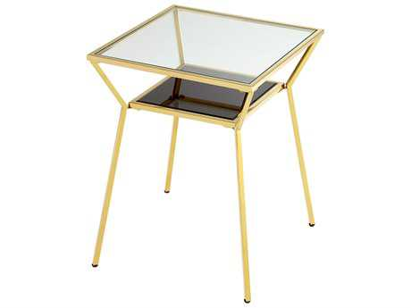 Cyan Design Arabella Brass 20'' Wide Square End Table