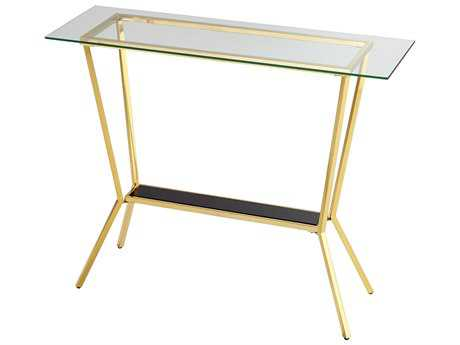 Cyan Design Arabella Brass 47''L x 16''W Rectangular Console Table