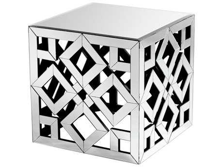 Cyan Design Gemma Clear 22'' Wide Square End Table