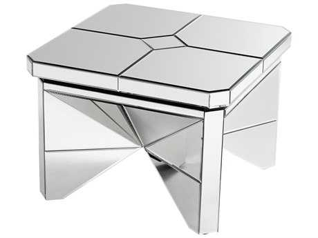 Cyan Design Revel Clear 28'' Wide Square End Table
