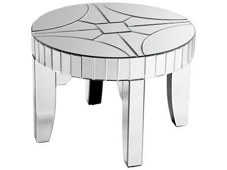 Cyan Design Rennay Clear 28'' Wide Round End Table