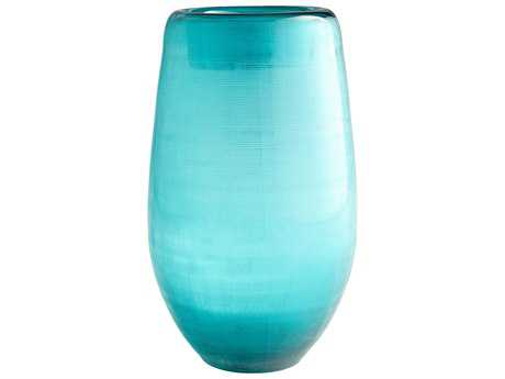 Cyan Design On the Water Turquoise Large Vase