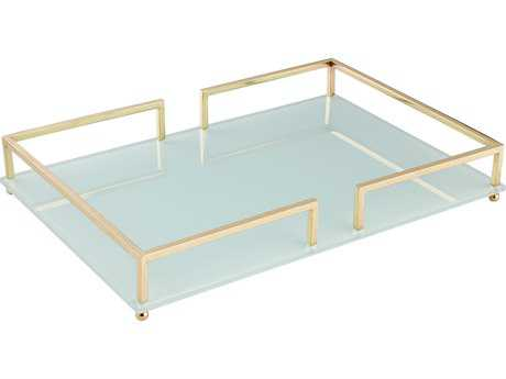 Cyan Design Contempo Gold Large Tray