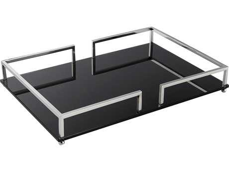 Cyan Design Contempo Nickel Large Tray
