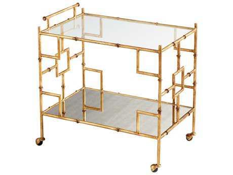 Cyan Design Molly Martini Gold Bar Cart