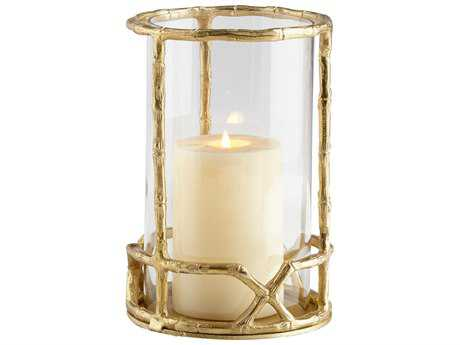 Cyan Design Gold Enchanted Flame Candleholder