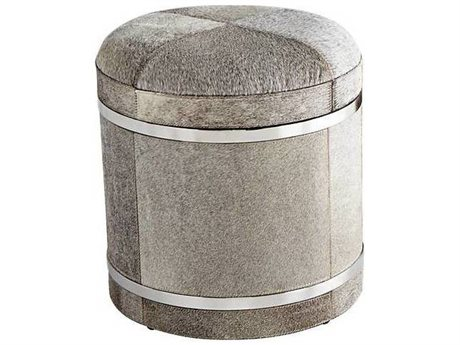 Cyan Design Casselton Grey Accent Stool