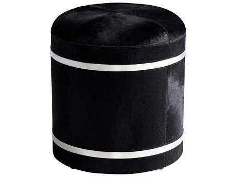 Cyan Design Casselton Black Accent Stool