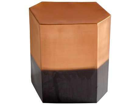 Cyan Design Golden Hunk Copper Accent Stool