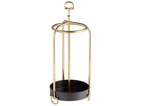 Cyan Design Brass Rain Go Away Umbrella Stand
