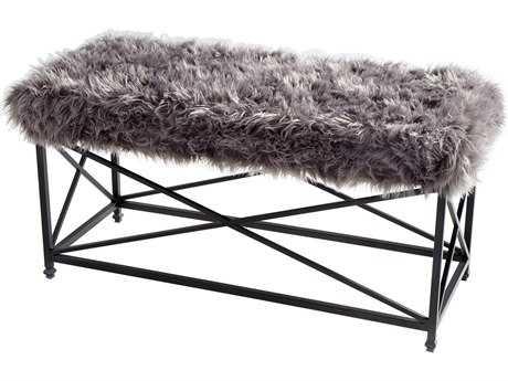 Cyan Design Ushanka Graphite and Grey Accent Bench