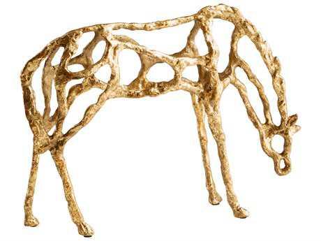Cyan Design Gold Pensive Sculpture