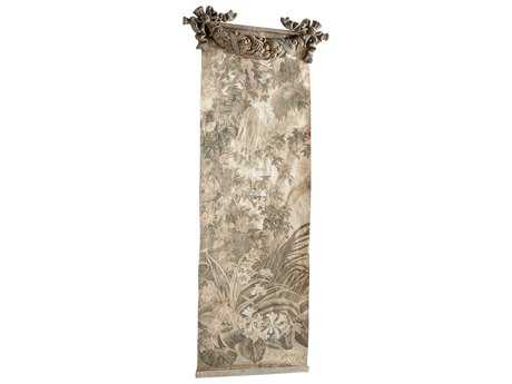 Cyan Design Nantucket Gray Havenwood Chinoiserie Wall Art