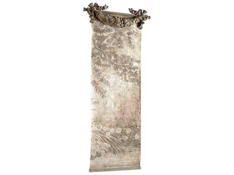 Cyan Design Nantucket Gray Hidden Garden Chinoiserie Wall Art
