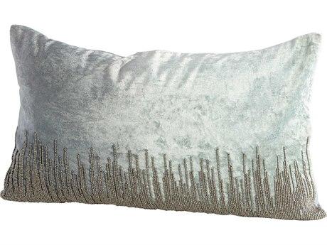 Cyan Design Sky Line Grey 14'' x 24'' Rectangular Pillow